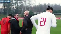 De retour à l'AC Milan, Zlatan Ibrahimovic marque déjà