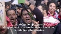 Des Jordaniens protestent contre l'importation de gaz israélien