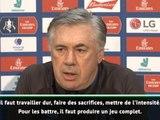 """FA Cup - Ancelotti : """"Contre Liverpool, tout doit être parfait"""""""