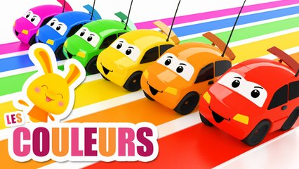 Les couleurs avec les voitures + Apprendre les couleurs - Chansons et comptines Titounis