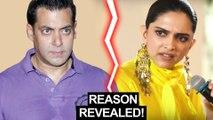 Deepika Padukone REACTS To NOT Working With Salman Khan | Chhapaak Promotions