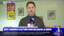 La CGT Cheminots souhaite que d'autres secteurs rejoignent la grève contre la réforme des retraites