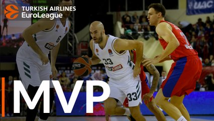 Round 17 MVP: Nick Calathes, Panathinaikos OPAP Athens