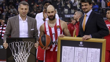 Interview, Vassilis Spanoulis, Olympiacos: 'I feel proud'