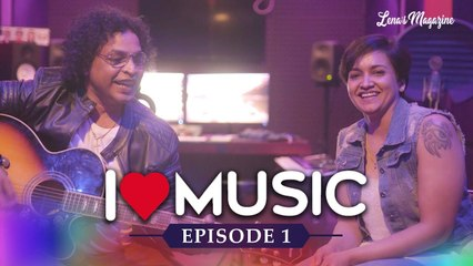 I ♥ Music Episode 01| Lena's Magazine | Unplugged Medley in interview by Suresh Peters