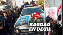À Bagdad, les images des funérailles de Qassem Soleimani