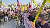 Irak'ta Süleymani ve Mühendis için cenaze töreni düzenlendi (4)