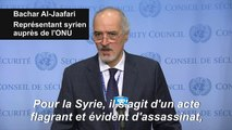 "L'ambassadeur syrien à l'ONU qualifie la mort de Soleimani d'""assassinat"""