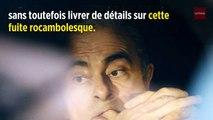 Fuite de Carlos Ghosn : Voici des détails livrés par la vidéosurveillance livre