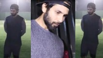 Spotted: Shahid Kapoor at a ground in Juhu practising for his upcoming movie Jersey
