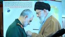 Ruhani ile Iraklı Şii lider Sadr, Kasım Süleymani'nin evini ziyaret etti