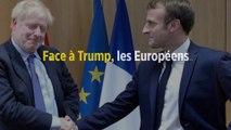 Face à Trump, les Européens veulent retenir Johnson