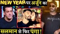 Arjun Kapoor And Malaika Arora's New Year Kiss Might Irk Salman Khan