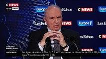 """""""Notre-Dame n'est pas sauvée"""", """"elle est toujours en état de péril"""", déclare Jean-Louis Georgelin sur  CNEWS/Europe 1/Les Echos."""