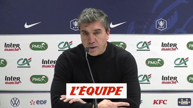 Guion «On a laissé passer notre chance» - Foot - Coupe - Reims