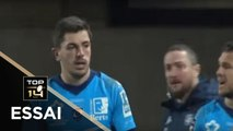 TOP 14 - Essai Anthony BOUTHIER (MHR) - Montpellier - Brive - J13 - Saison 2019/2020