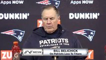 Bill Belichick On Patriots Loss To Titans, Tom Brady Retirement