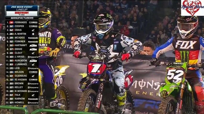250 SX Main Event Anaheim AMA Supercross 2020