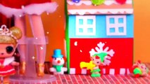 The CLAUS Family  Santa Claus, Mrs. Claus and Kids with LOL Dolls and Barbies - Toy Transformations