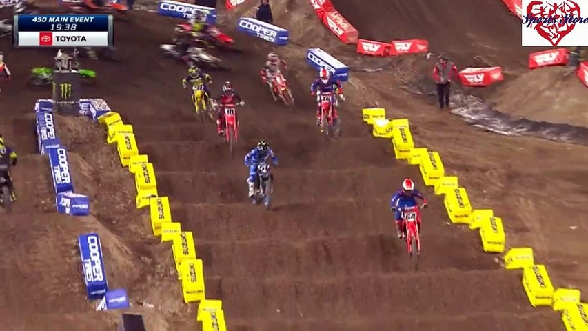 450 SX Main Event Anaheim AMA Supercross 2020