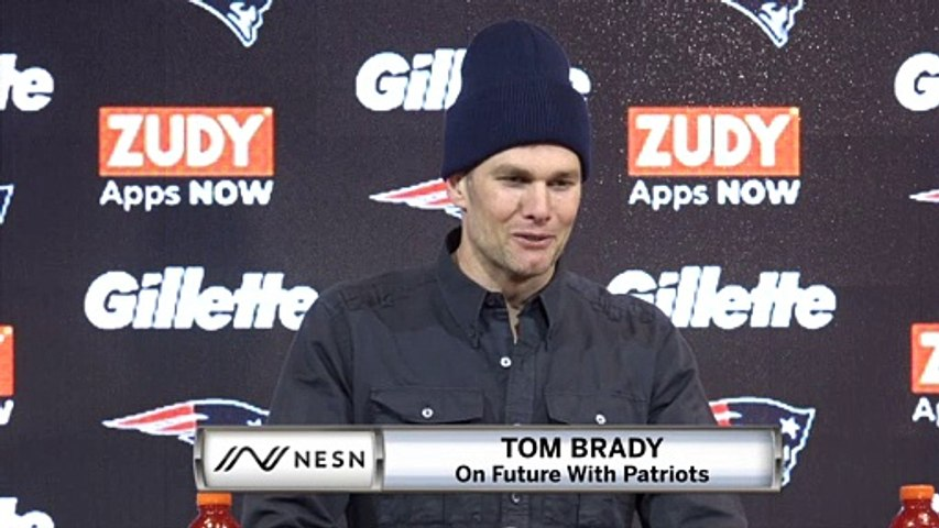Tom Brady On Future With Patriots, Retirement Options