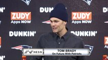 Tom Brady On His Future With The Patriots