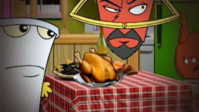 Aqua Teen Hunger Force S02E21 The Dressing