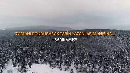 MSB, Sarıkamış Harekâtı sırasında donarak şehit düşen Mehmetçikleri andı