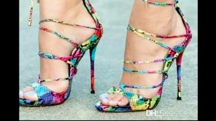 2020 Fashionable Women's Shoes/2020 Latest Fashion For Girls/Open Toe High Heels Sandals Trends