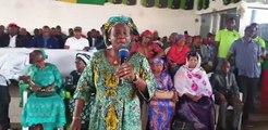 Guinée / Mme Tata  Bah de l'UFDG fait un clin d'œil : « Dites à ce Burkinabè que les Guinéens ne sont pas des singes »