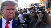 Iran attack on America|| ईरान ने अमेरिकी दूतावास पर रात को हमला कर दिया