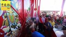 张宫圣宫搬至锡克村 千人游行 见证迁庙