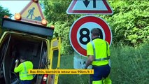 Bas-Rhin : quelles routes vont repasser à 90 km/h ?