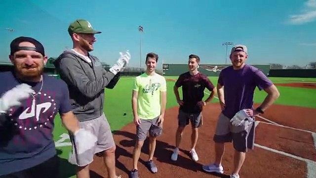 All Sports Baseball Battle   Dude Perfect