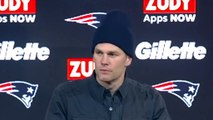 "NFL - Tom Brady on Wild Card Loss, ""Weren't able to get the job done."""