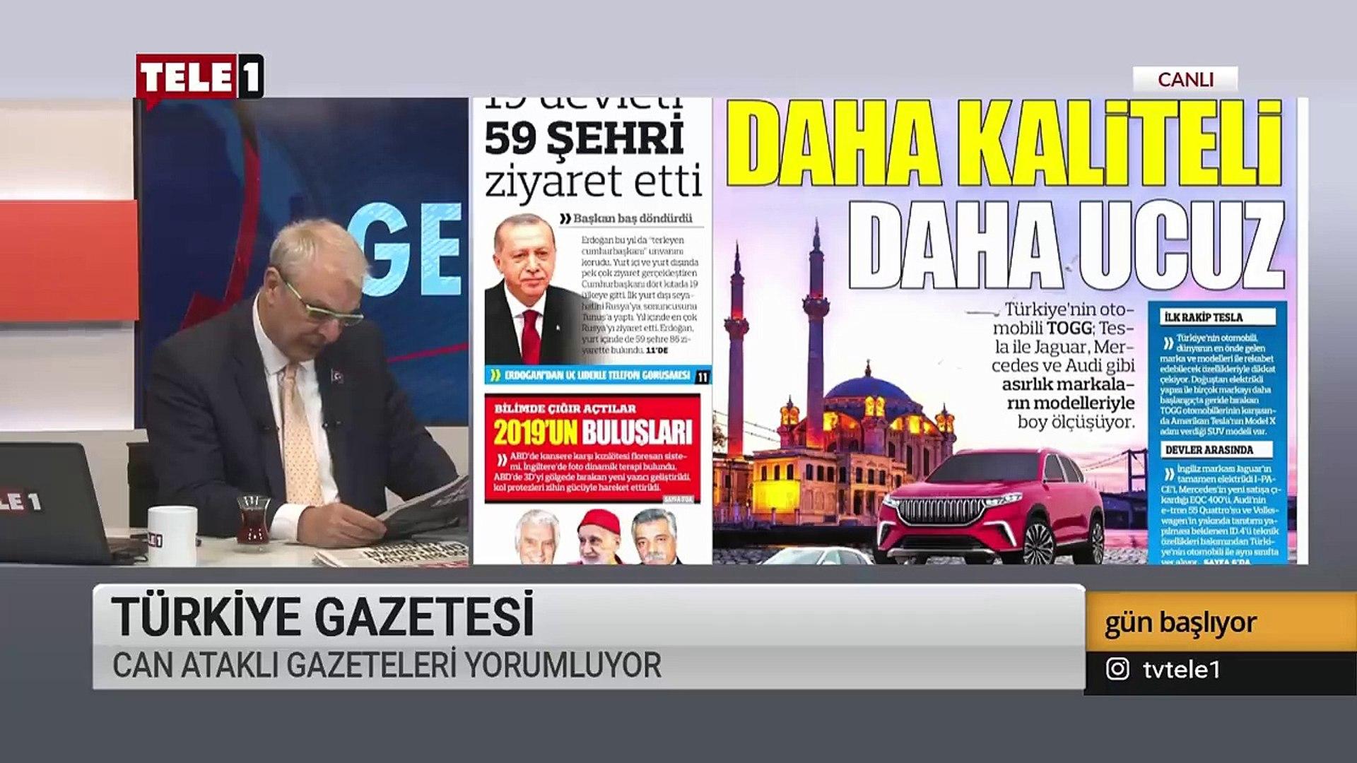 AKP'nin yerli ve milli masalları - Gün Başlıyor (30 Aralık 2019)