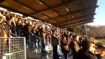 Coupe de France : supporters et joueurs de Lille saluent l'US Raon