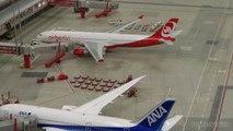 Aéroport en miniature - Découvrez des avions et des merveilles aéronautiques - Un Concorde et même un Antonov se dirige vers la piste avant de décoller