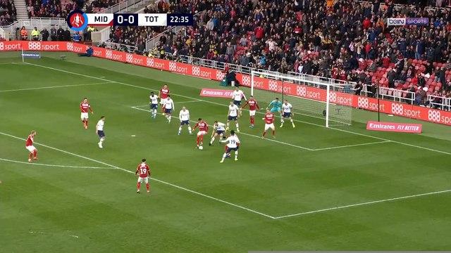 FA Cup : Tottenham poussé au replay par Middlesbrough