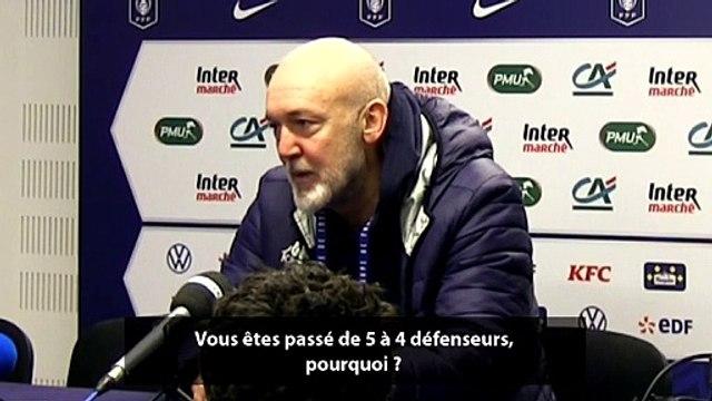 La réaction du coach de Trélissac Pavlé Vostanic après l'élimination contre l'OM