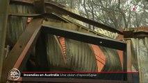 Les images terribles de l'Australie en feu depuis des semaines faisant des millions de victimes parmi les animaux