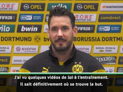 Dortmund - Bürki a hâte de s'entraîner avec Haaland