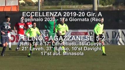 Felino - Agazzanese 5-2, highlights e interviste