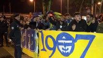 Fenerbahçe Futbol Takımı, Antalya'ya geldi