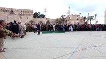 Libya'daki saldırıda ölen öğrenciler için cenaze töreni düzenlendi