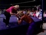 Tojo, Sato, Goto vs Jeff Jarrett, Pat Tanaka (9-6-86) CWA Donnybrook!