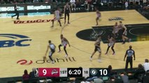 Luka Samanic Posts 21 points & 12 rebounds vs. Rio Grande Valley Vipers