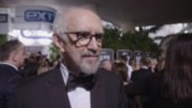 'The Two Popes' Star Jonathan Pryce Reunited With 'Miss Saigon' Co-Star Billy Porter On Red Carpet | Golden Globes 2020
