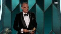 Tom Hanks reçoit le prix Cecil B. DeMille - Golden Globes 2020