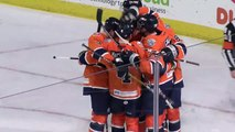 ECHL Jacksonville Icemen 3 at Worcester Railers HC 6